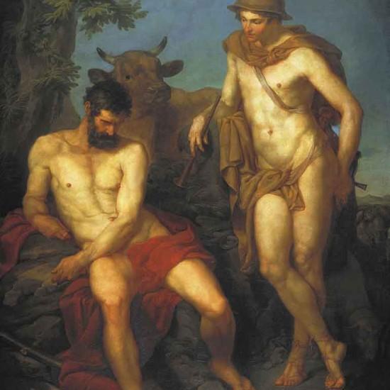 Hermes i Argus