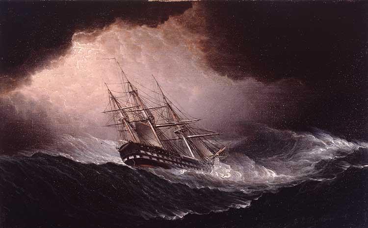 Brod u oluji