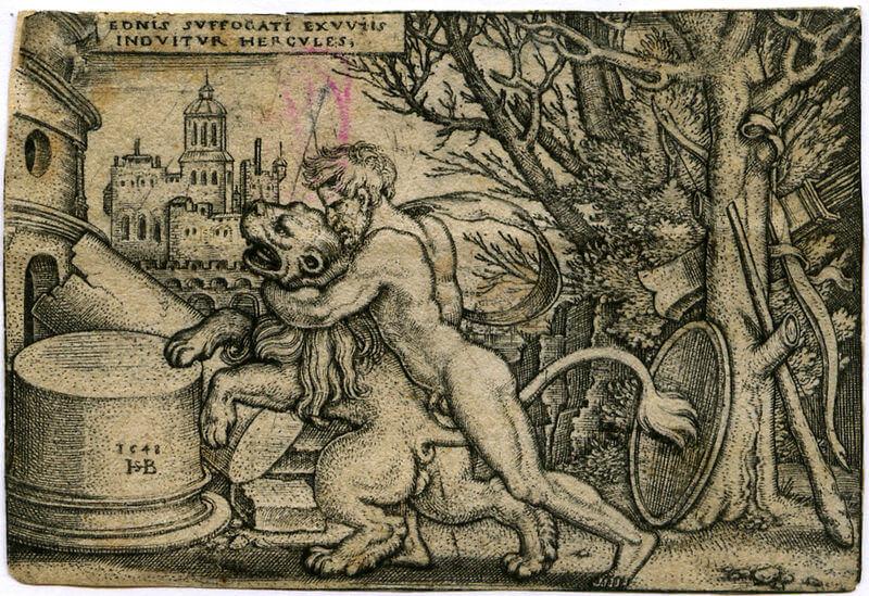 Herkul ubija nemejskog lava