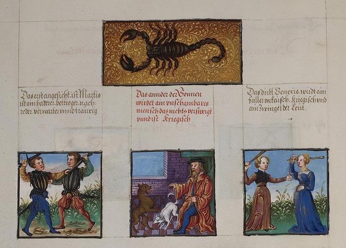 o stepenima u znaku Škorpije